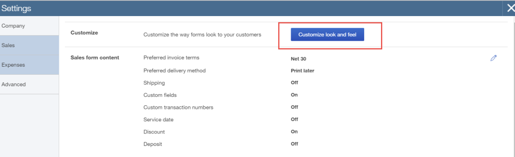 how to add sales tax to quickbooks invoice